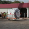 MRI Equipment Unloading