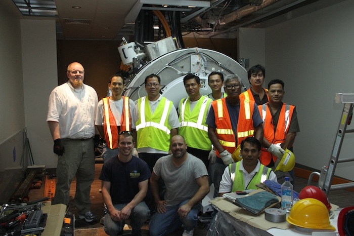 MRI Installation Team